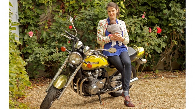 Enceinte à moto ?