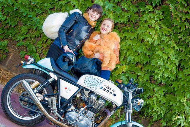 Kissnvroom,DalZotto,RoyalEnfield, blog moto filles