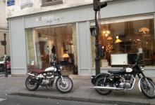 Un dimanche de soldes à moto