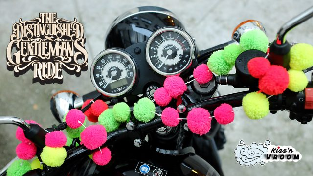 Pompon Distinguished Gentleman's Ride