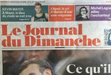 Journal du Dimanche  27 janvier 2019